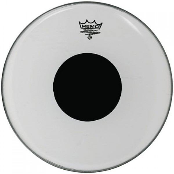 Remo 22'' Smooth White Controlled Sound Bass Drum